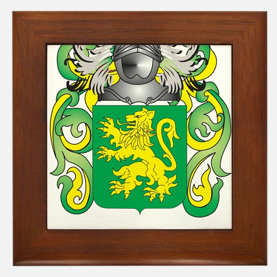 Duffy Coat of Arms Framed Tile