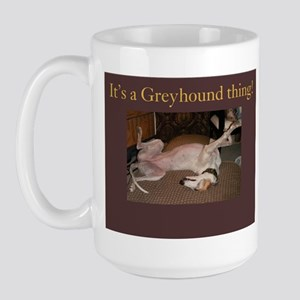 Greyhound Thing Large Mug