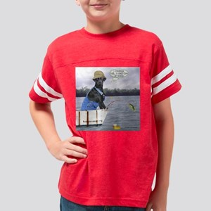 rufus working 12 x 12 rectang Youth Football Shirt