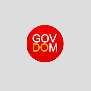 Gov Dom Can Do Button Mini Button