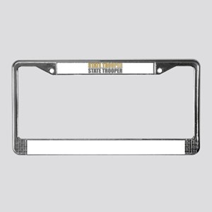 STATE TROOPER License Plate Frame