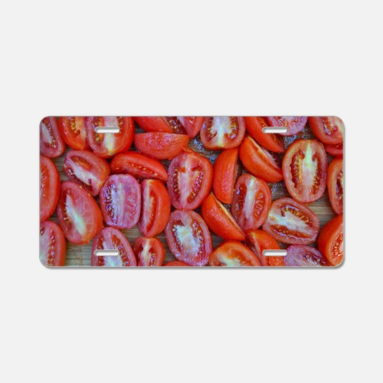 Unique Tomato Aluminum License Plate
