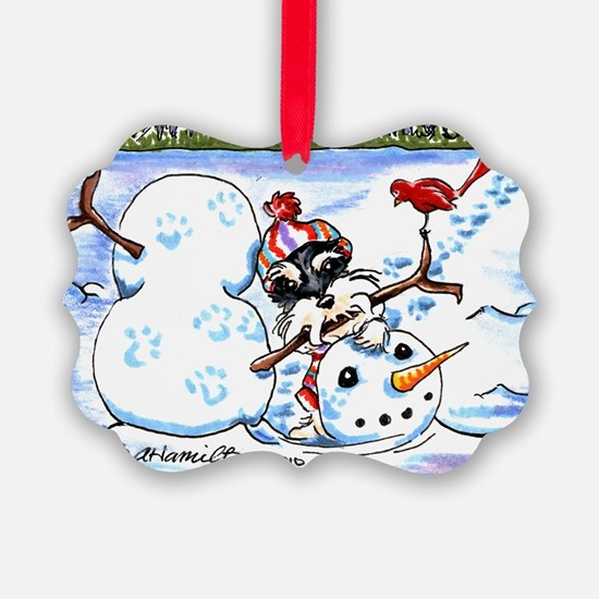 Schanzuer Snow Day Ornament