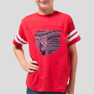 buttress-rnd-T Youth Football Shirt