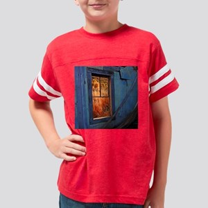 Old_Blue_Paint square Youth Football Shirt