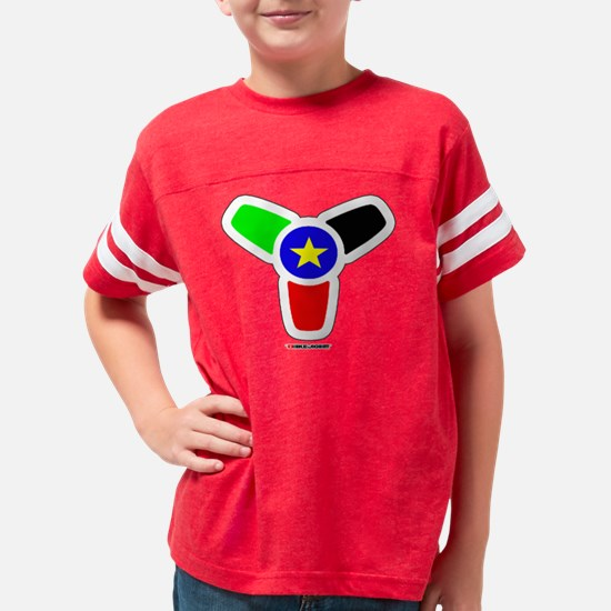 South Sudan Flag upstract cen Youth Football Shirt