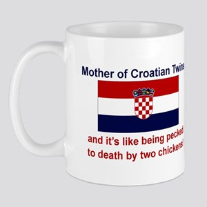 Mother of Croatian Twins Mug