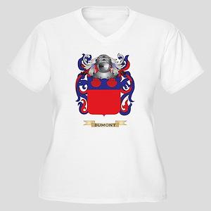 Dumont Coat of Arms Plus Size T-Shirt
