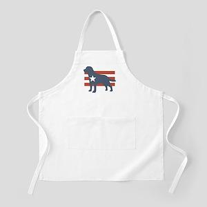 Patriotic Labrador Retriever BBQ Apron