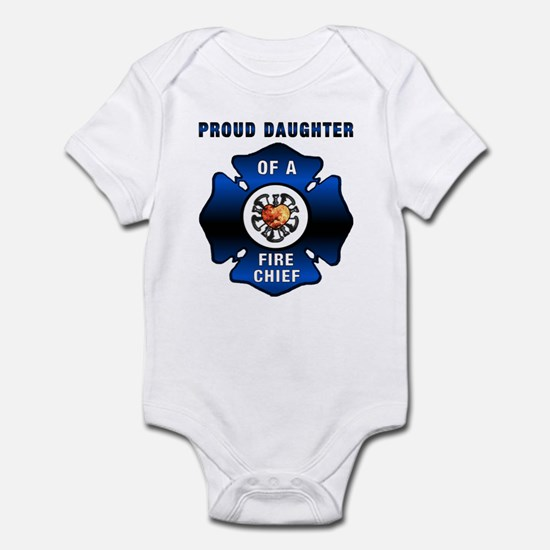 Fire Chiefs Daughter Infant Bodysuit
