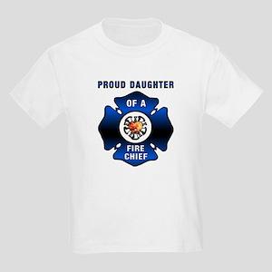 Fire Chiefs Daughter Kids Light T-Shirt
