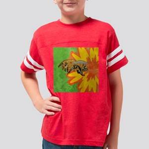 duvetQueenHoneybee Youth Football Shirt