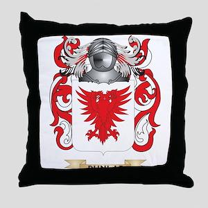Dunlap Coat of Arms Throw Pillow