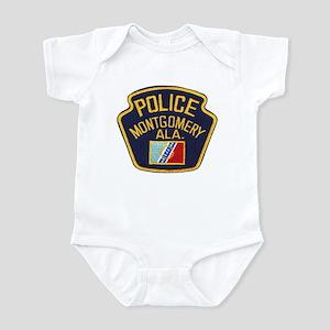 Montgomery Police Infant Bodysuit
