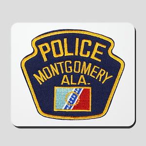 Montgomery Police Mousepad