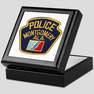 Montgomery Police Keepsake Box