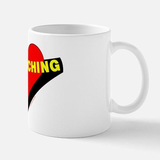 Geocaching Heart Mug