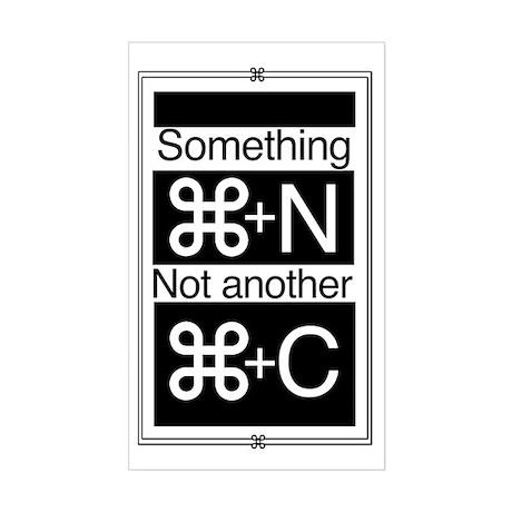 something new Sticker (Rectangle)