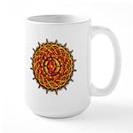 Celtic Knotwork Sun Large Mug