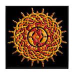 Celtic Knotwork Sun Decorative Tile