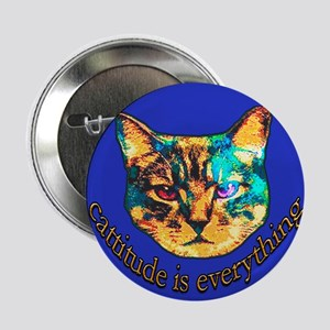 Cattitude is Everything Button