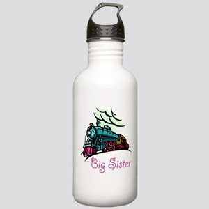 Big Sister Rolling Train Stainless Water Bottle 1.