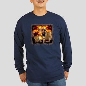Lion of Judah 4 Long Sleeve Dark T-Shirt