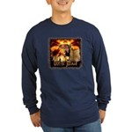 Lion of Judah 4 Long Sleeve Dark T-Shirt