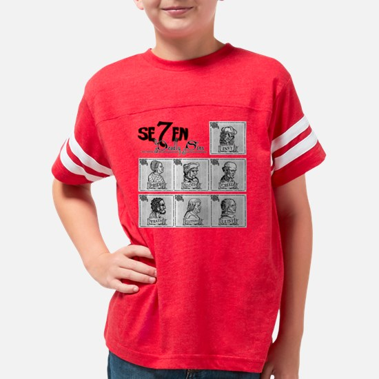 7deadly Youth Football Shirt