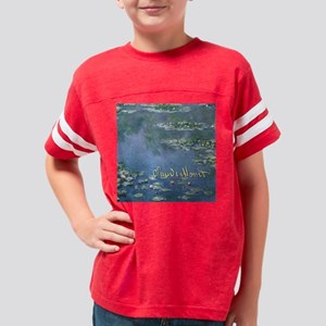 MonetWaterLillies7100 Youth Football Shirt