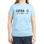 OPEN G - IT'S WHAT I DO Women's Light T-Shirt