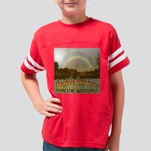 double_rainbow9a Youth Football Shirt
