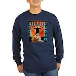 Lion of Judah 5 Long Sleeve Dark T-Shirt