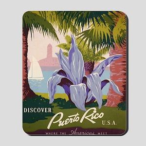 Discover Puerto Rico Mousepad