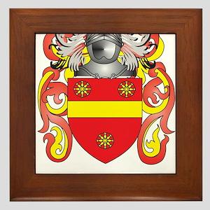 Earnshaw Coat of Arms Framed Tile