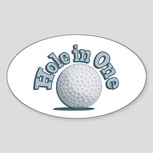 Hole in One (txt) Sticker