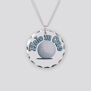 Hole in One (txt) Necklace