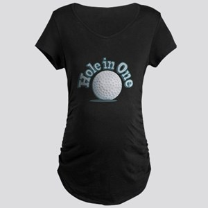 Hole in One (txt) Maternity T-Shirt