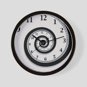 Vintage Spiral Wall Clock