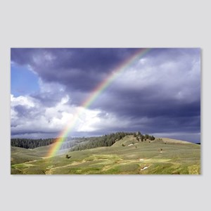 Rainbow Landscape Postcards (Package of 8)