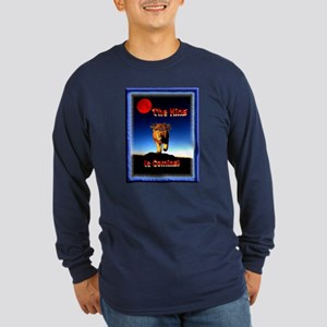 The King is coming! Long Sleeve Dark T-Shirt