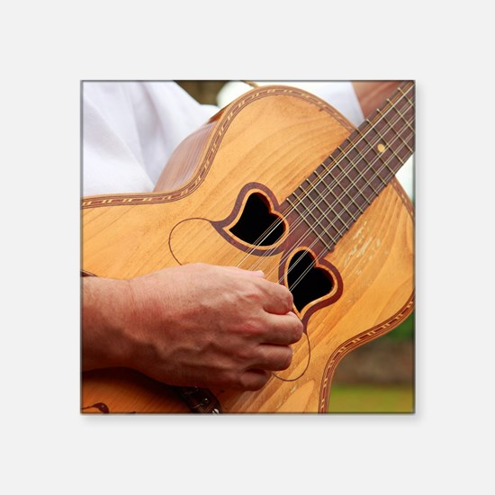 Typical Azores guitar Sticker