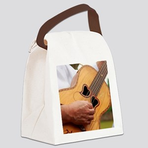 Typical Azores guitar Canvas Lunch Bag