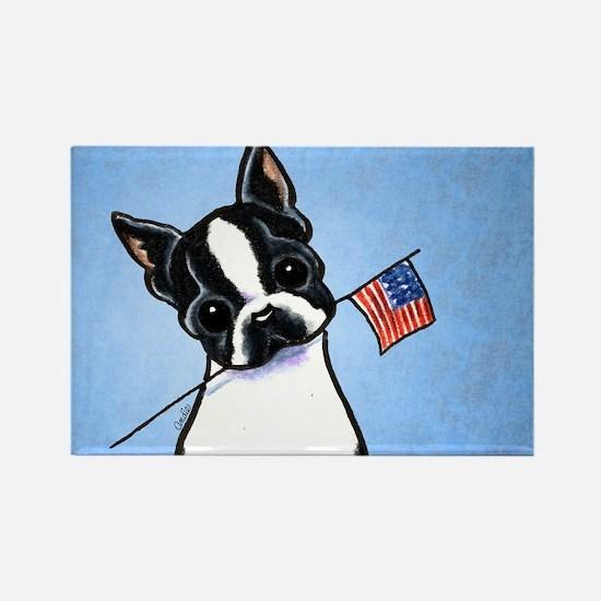 Boston Flag Rectangle Magnet