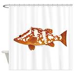 Nassau Grouper f Shower Curtain