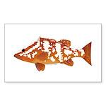 Nassau Grouper f Sticker