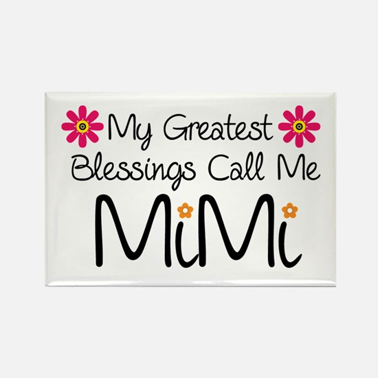 My Greatest Blessings Rectangle Magnet