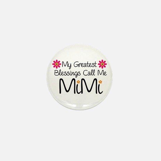 My Greatest Blessings Mini Button