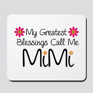 My Greatest Blessings Mousepad