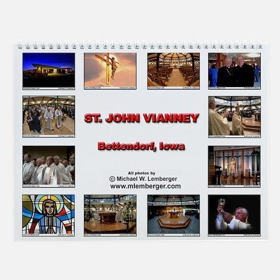 St. John Vianney Wall Calendar